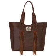 American West Large Zip Top Tote 5985915