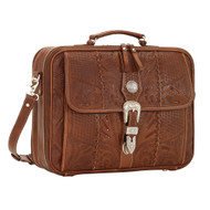 American West Retro Romance  Laptop Briefcase 8565910
