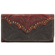 American West Annie's Secret Collection Ladies' Tri-Fold Wallet 9150282