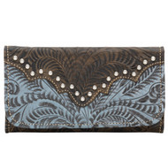 American West Annie's Secret Collection Ladies' Tri-Fold Wallet 9155282
