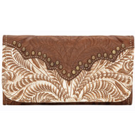 American West Annie's Secret Collection Ladies' Tri-Fold Wallet 9199282