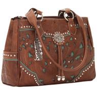 American West Lady Lace Multi-compartment Organizer Tote LCBT471