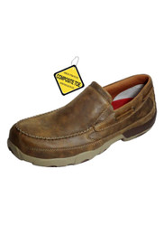 Twisted X Men's Slip-on Driving Moccasin MDMSC03