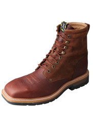 Twisted X Men's Lite Cowboy Lacer Workboot MLCSLW1