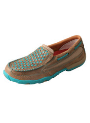 Twisted X Women's Slip-On Driving Moccasin WDMS006