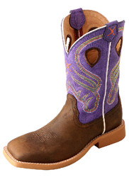 Twisted X Kid's Ruff Stock Boot YRS0003