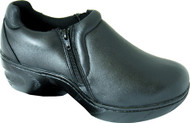 Women's Genuine Grip Footwear Slip-Resistant Slip-on Zipper