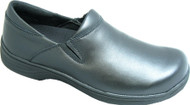 Men's Genuine Grip Footwear Slip-Resistant Slip-On Work Shoes