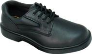 Men's Genuine Grip Footwear Slip-Resistant Steel Toe Oxford