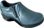 Women's Genuine Grip Footwear Slip-Resistant Slip-on Zipper 464
