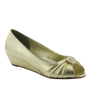 Dyeables Women's Anette Low Heel Wedge