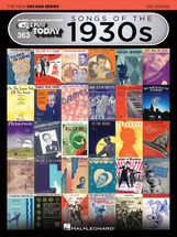 EZ Play 363 New Decade Series - Songs of the 1930's