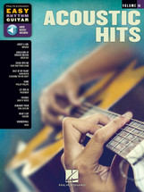 Acoustic Hits - Hal Leonard EASY RHYTHM GUITAR Volume 14