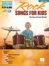 Hal Leonard DRUM Play Along - Rock Songs for Kids