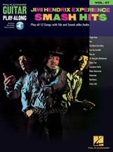 Jimi Hendrix Experience SMASH HITS - Book & CD Guitar