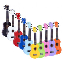 Mahalo Rainbow Series Soprano Ukulele in carry bag