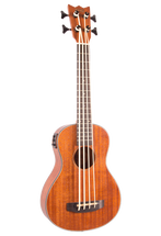 Mahalo Electric/Acoustic Bass Ukulele