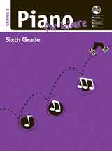 AMEB Piano For Leisure - Grade 6 - Series 3 (purple book)