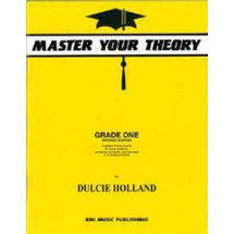 Master Your Theory - Dulcie Holland  Grade 1 - 6