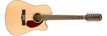 Fender CD-140SCE  12 STRING Acoustic/Electric Guitar with case - New 2017