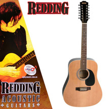Redding 12 String Acoustic Guitar - Sunburst/Natural