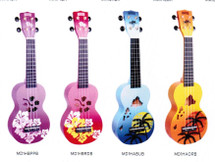 Mahalo Designer Series Ukuleles - Assorted Designs including Gig Bag