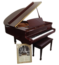 BEALE GP148 Baby Grand Acoustic Piano - Brown Mahogany