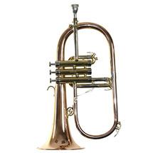 Trevor James Renaissance Flugel Horn - Silver Plated