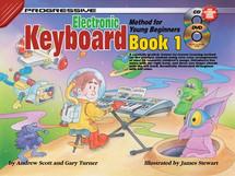Progressive Young Beginner Keyboard Book 1 CD/DVD