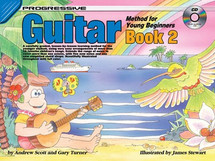 Progressive Young Beginner Guitar Book 2 & CD