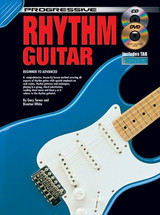 Progressive Rhythm Guitar Book CD/DVD