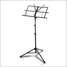 Ashton M3129B Heavy Duty Folding Music Stand - Black with Carry Bag