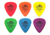 Jim Dunlop Tortex Plectrums - 12 pack