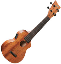 Ashton Concert Mahogany Top Concert Ukulele with Pick Up