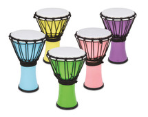 """TOCA Colour Sound 7"""" Freestyle Djembe Pastels"""