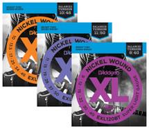 D'Addario Nickel Wound XL Series Electric Guitar Strings