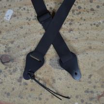 Ukulele Strap - Webbing with Leather Ends