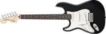 Fender Squier Standard Strat Electric Guitar - Black - Left Handed