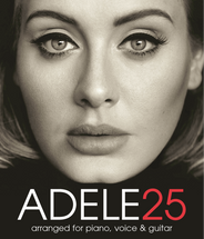 ADELE 25 - Piano/Vocal/Guitar Album Folio