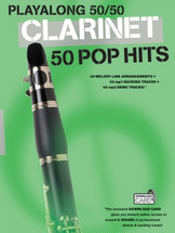 Playalong 50/50 Pop Hits - Clarinet Book and Backing Track Download