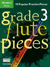 GRADED PIECES Grade 3 - 15 Popular Practice Pieces with Backing Tracks for Flute/Clarinet/Alto Sax/Violin