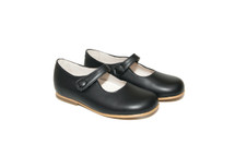 Navy Leather Mary Jane Shoes From Ben & Lola