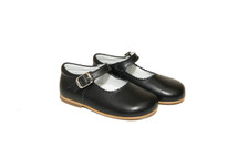 Little Girl Navy Leather Mary Jane Shoes From Ben & Lola