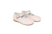Little Girl Rose Leather Mary Jane Shoes From Ben & Lola