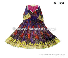 Afghan Tribal Ethnic Dress Handmade Filigree Clothes