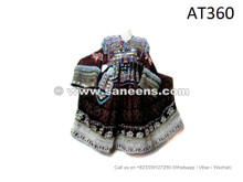 Afghanistan Gypsy Women Large Dress Handmade Kuchi Tribal Banjara Frock