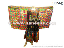 afghan dress, bridal gown