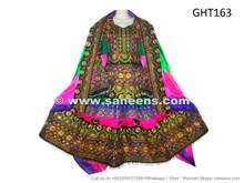 Beautiful Pashtun Bridal Dress Frock Afghan Fashion Wedding Clothes