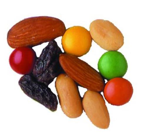 Ranch Mix (Raisins, Peanuts, Almond, chocolate shots)