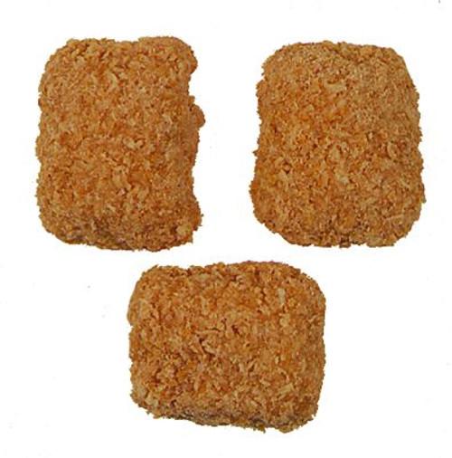 Coconut Crunch Peanut Butter Logs